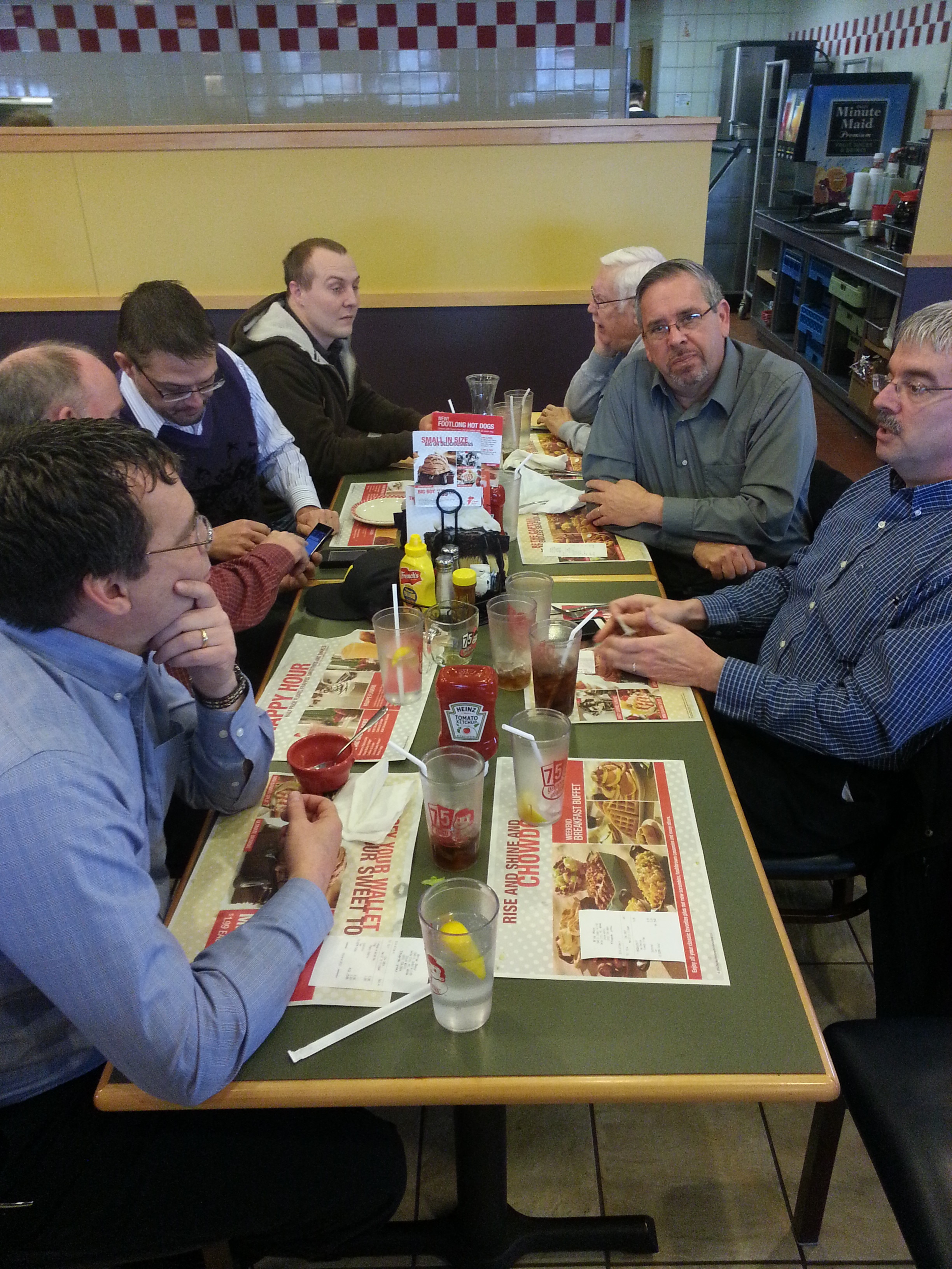 Pastor lunch in Imlay City